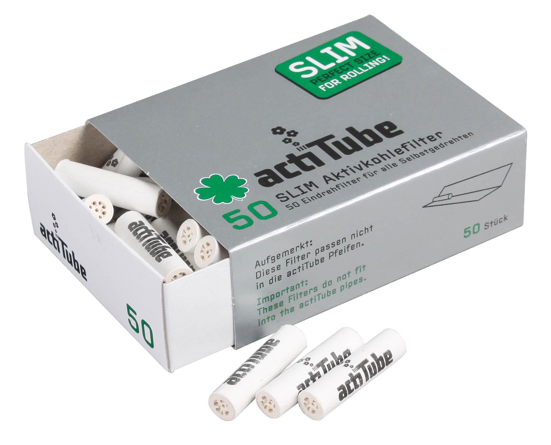 ActiTube Slim Aktivkohlefilter