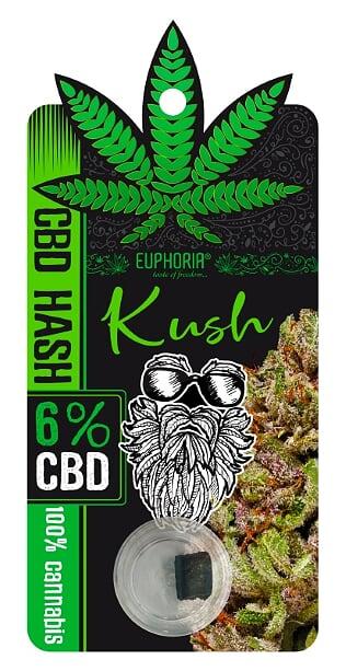 "6% CBD HASH ""KUSH""- 1g"