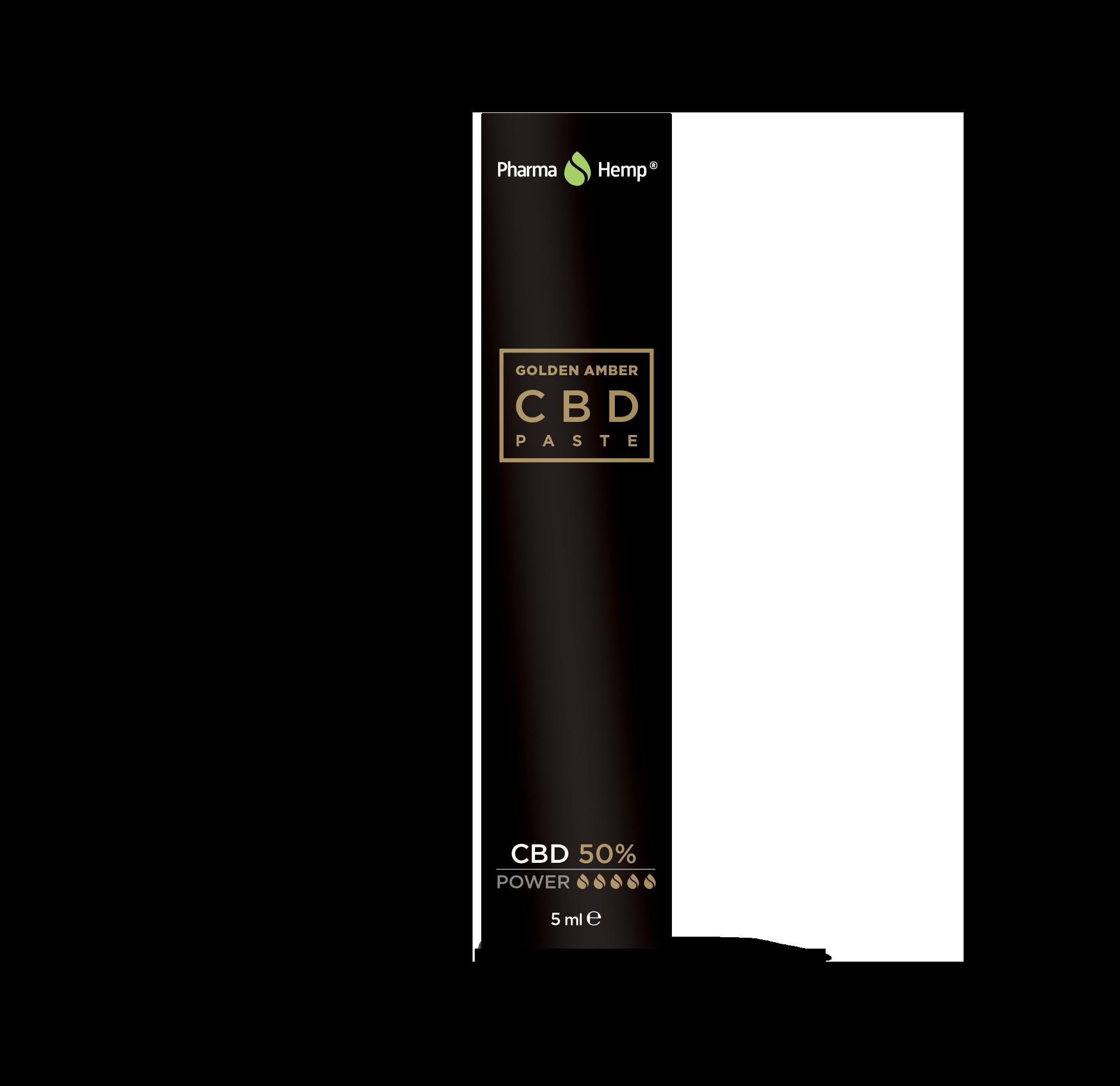CBD GOLDEN AMBER PASTE 5ml - 50%
