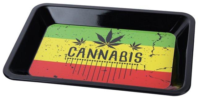 """Bröselschale """"Cannabis"""" klein"""