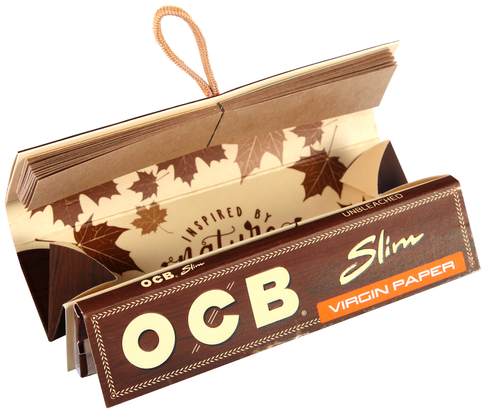 OCB Unbleached Roll Kit Virgin Paper