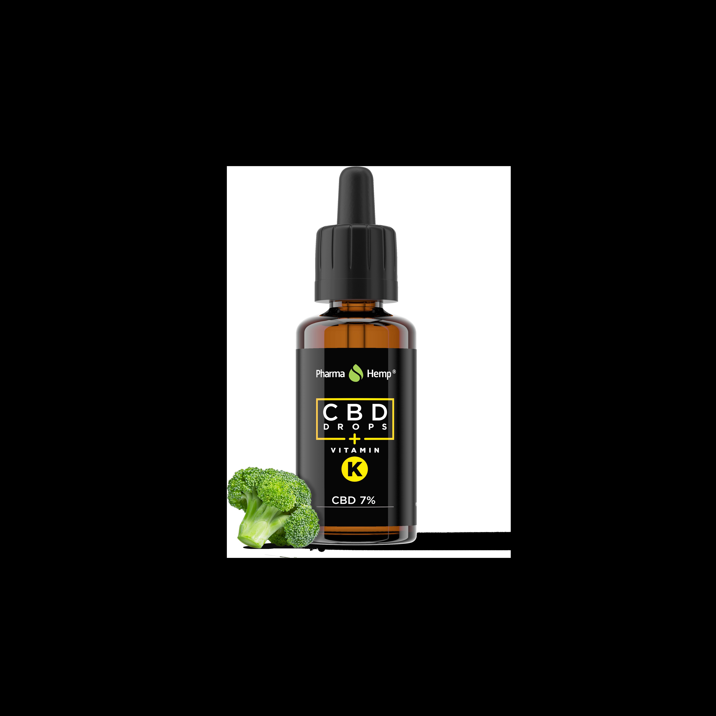 CBD Oil 30ml 7% 2100mg HMP OIL - Vitamin K
