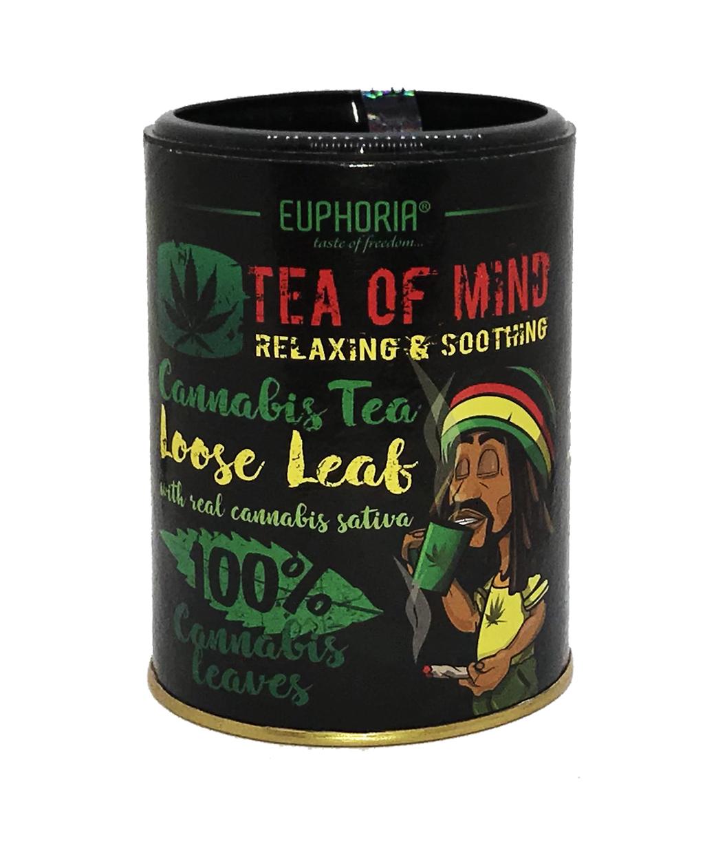 CANNABIS TEA 'TEA OF MIND' LOOSE LEAF