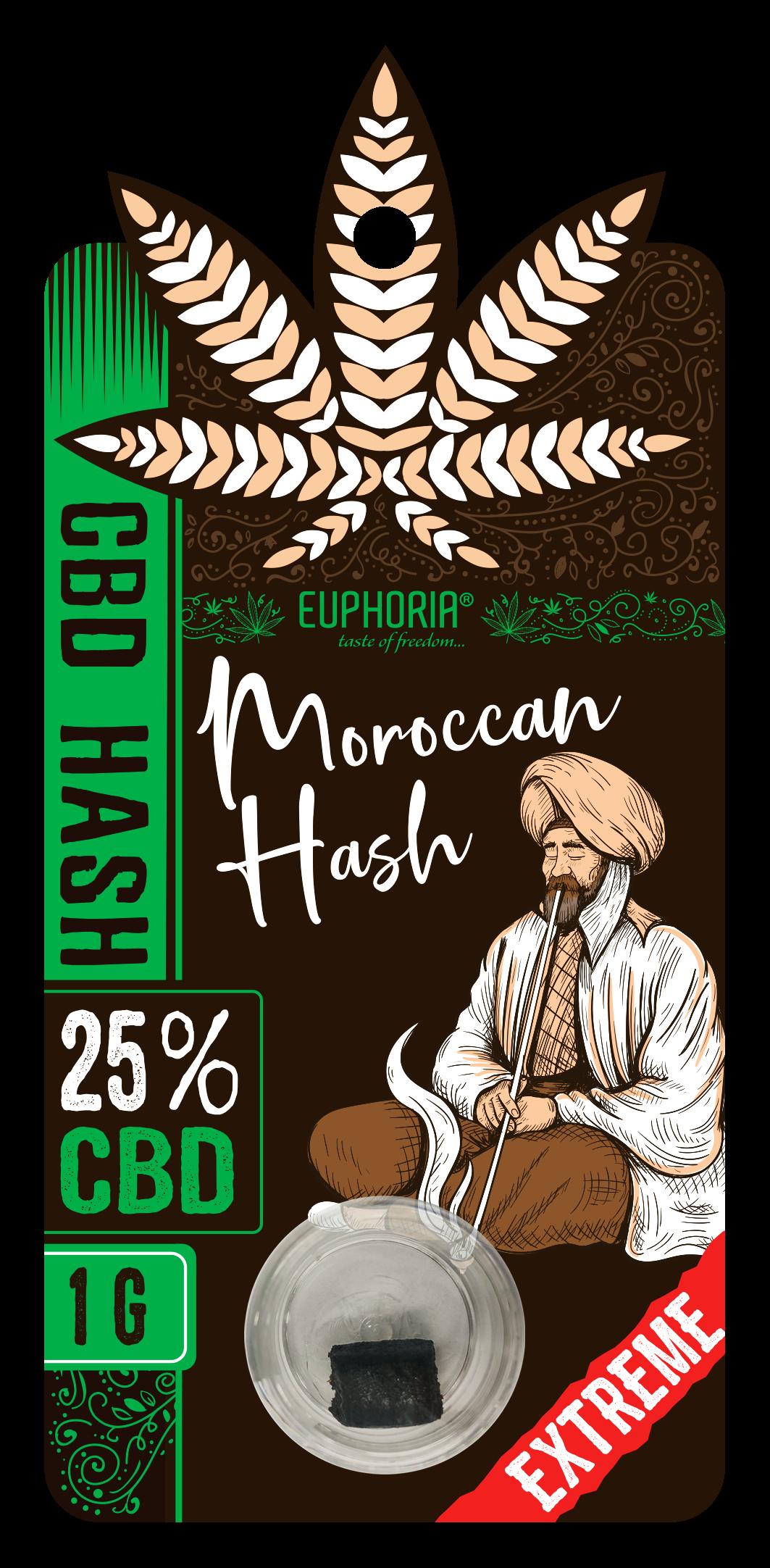 "25% CBD HASH ""MOROCCAN"""
