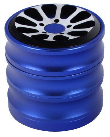 """Grinder """"Roundabout"""" blue/silver 4er"""