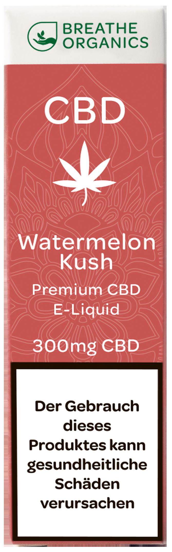 Breathe Organics CBD Liquid Watermelon Kush 300mg