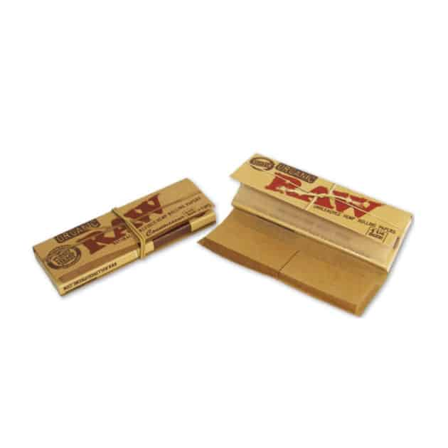 RAW Organic Connoisseur (1 1/4 Papes + Filtertips)