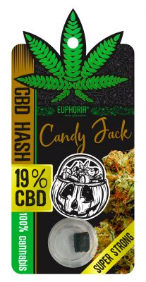"19% CBD HASH ""CANDY JACK"""