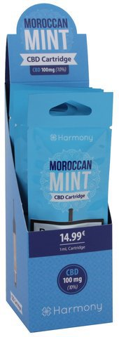 Harmony CBD Kartusche Morroccan 100mg