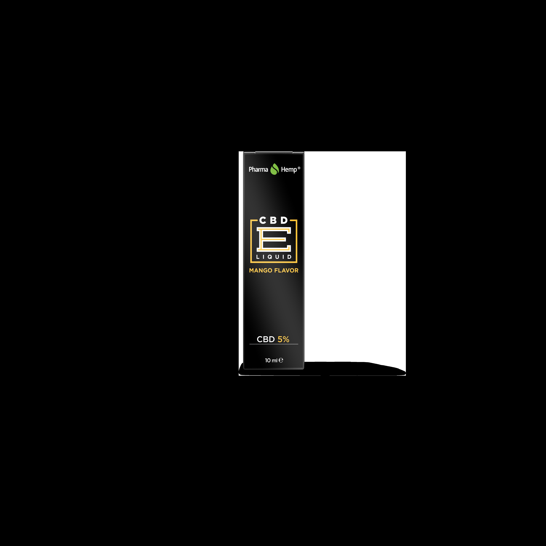 CBD E LIQUID PH 10ml 5% 500mg - MANGO